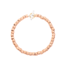 Granelli Bracelet - 9k Rose Gold, 18k Yellow Gold, Silver