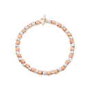 Granelli Bracelet - 9k Rose Gold, Silver, 18k Yellow Gold