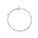 Mini Granelli Bracelet - Silver, 9k Rose Gold, Steel