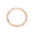 Pepita Bracelet - 9k Rose Gold, Silver, 18k Yellow Gold