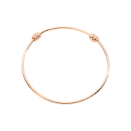 Nodo Bangle - 9k Rose Gold