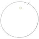 Collier Essentials - Argent, Or Jaune 18k