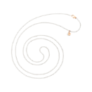Bollicine Necklace - Silver, 9k Rose Gold