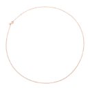 Collier Essentials - Or Rose 9k