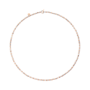 Mini Granelli Necklace - 9k Rose Gold, Silver, Steel