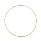 Mini Granelli Necklace - 18k Yellow Gold, Steel