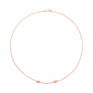 Nodo Necklace - 9k Rose Gold
