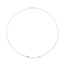Nodo Necklace - Silver