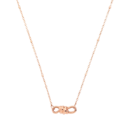 Nodo Choker - 9k Rose Gold
