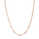 Collier Maillons Ouvrants Essentials - Argent Plaqué Or Rose 18k